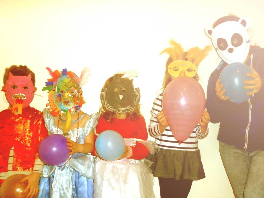 Masques pour Mardi Gras
